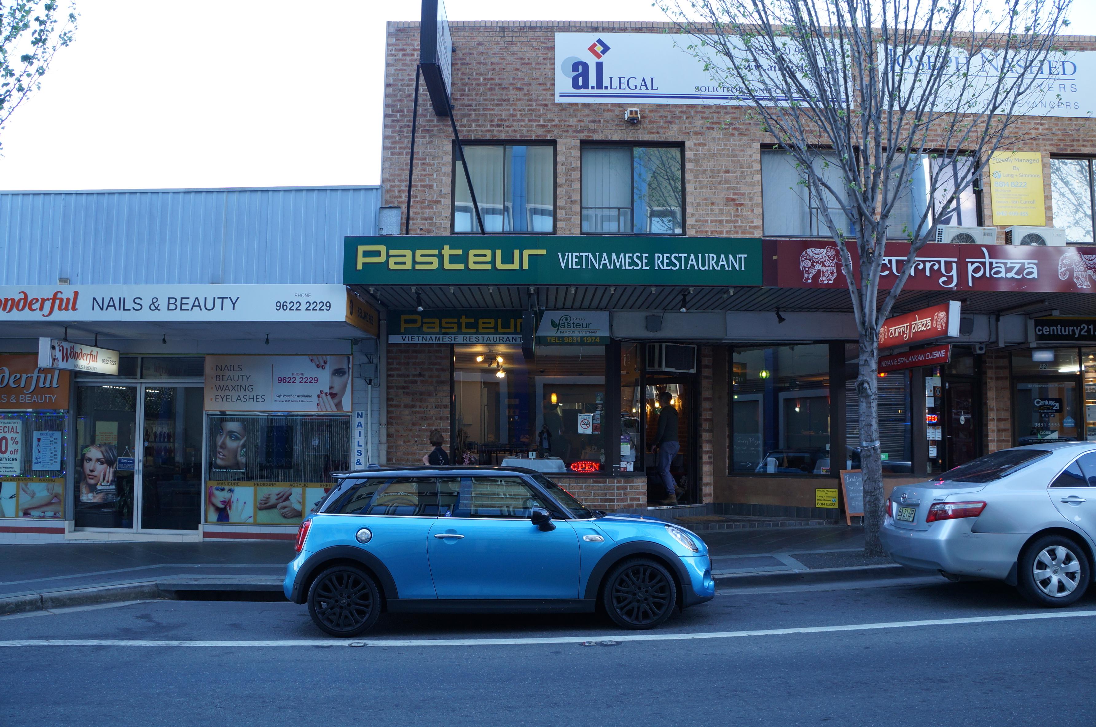 Pasteur Restaurant open for Business!